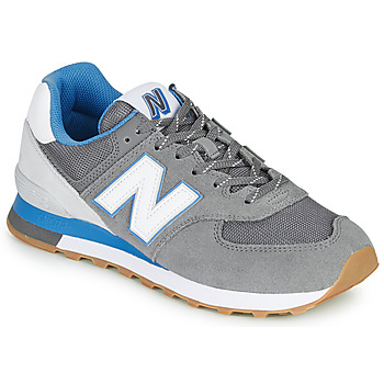 Skor Herr Sneakers New Balance 574 Grå / Blå