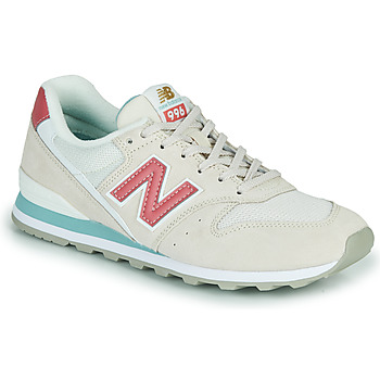 Skor Dam Sneakers New Balance 996 Beige / Rosa