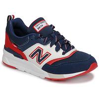 Skor Pojkar Sneakers New Balance 997 Blå / Vit / Röd