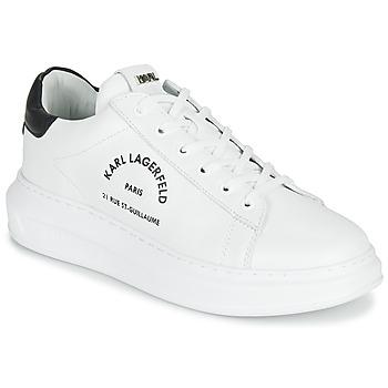 Skor Herr Sneakers Karl Lagerfeld KAPRI MAISON KARL LACE Vit