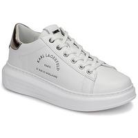 Skor Dam Sneakers Karl Lagerfeld KAPRI MAISON KARL LACE Vit