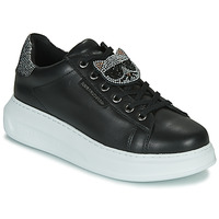 Skor Dam Sneakers Karl Lagerfeld KAPRI IKONIC TWIN LO LACE Svart