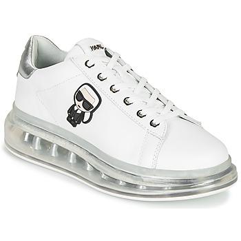 Skor Dam Sneakers Karl Lagerfeld KAPRI KUSHION KARL IKONIC LO LACE Vit / Silver