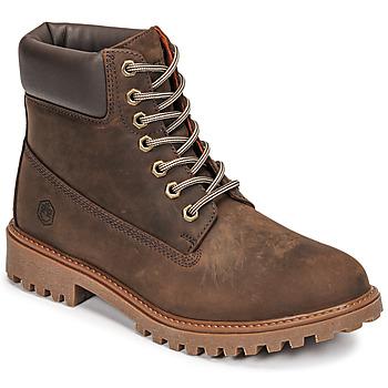 Skor Herr Boots Lumberjack RIVER Brun