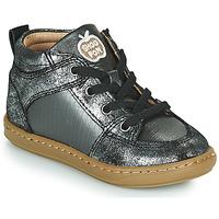Skor Flickor Höga sneakers Shoo Pom BOUBA GANG Silver