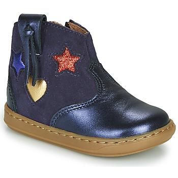 Skor Flickor Höga sneakers Shoo Pom BOUBA WEST Blå