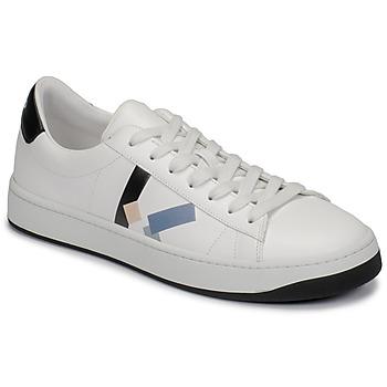 Skor Herr Sneakers Kenzo FA65SN172 Vit