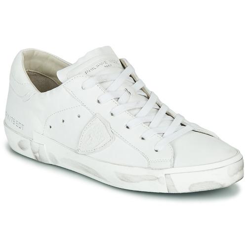 Skor Dam Sneakers Philippe Model PARIS X BASIC Vit