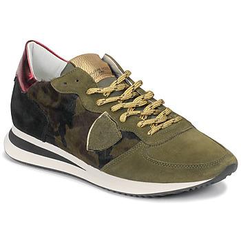 Skor Dam Sneakers Philippe Model TROPEZ Kamouflage