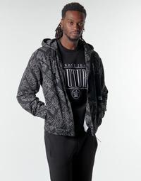 textil Herr Sweatshirts Versace Jeans Couture B7GZB707 Svart