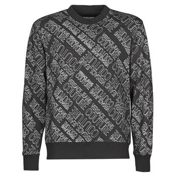 textil Herr Sweatshirts Versace Jeans Couture B7GZB7F5 Svart
