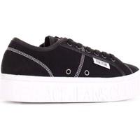 Skor Herr Sneakers Versace E0YVBSD4-71540 Nero
