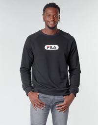 textil Herr Sweatshirts Fila BAHA RAGLAN CREW Svart