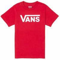 textil Pojkar T-shirts Vans BY VANS CLASSIC Röd