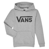 textil Barn Sweatshirts Vans VANS CLASSIC PO Grå