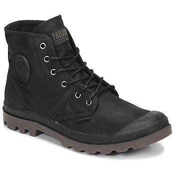 Skor Boots Palladium PALLABROUSE WAX Svart