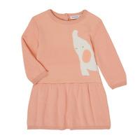 textil Flickor Korta klänningar Noukie's Z050082 Rosa