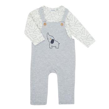 textil Pojkar Set Noukie's Z050372 Grå