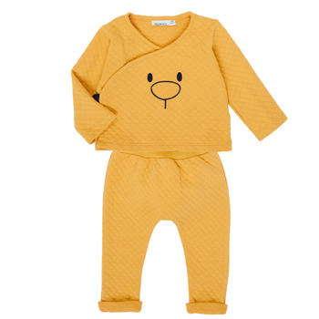 textil Flickor Set Noukie's Z050377 Gul