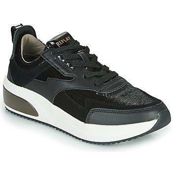 Skor Dam Sneakers Replay FLOW CREATION Svart