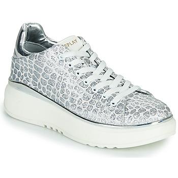 Skor Dam Sneakers Replay ULTRA NACHT Vit / Grå