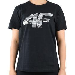 textil Pojkar T-shirts 4F Boy's T-shirt HJL20-JTSM003-20S