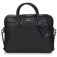 Väskor Herr Portföljer Polo Ralph Lauren COMMUTER-BUSINESS CASE-SMOOTH LEATHER Svart