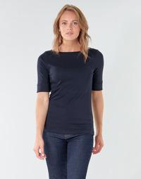 textil Dam Långärmade T-shirts Lauren Ralph Lauren JUDY Marin