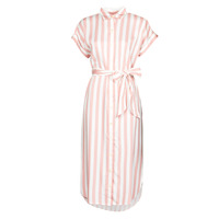 textil Dam Långklänningar Lauren Ralph Lauren CICERO Vit / Rosa