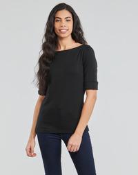 textil Dam Långärmade T-shirts Lauren Ralph Lauren JUDY Svart