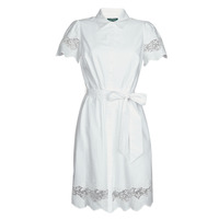 textil Dam Korta klänningar Lauren Ralph Lauren DORTHIA Vit