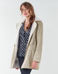 textil Dam Kappor Lauren Ralph Lauren RVRSBL FXSH-COAT Kamel