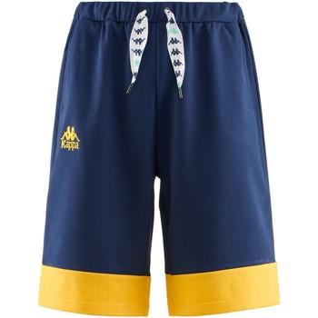 textil Pojkar Shorts / Bermudas Kappa 304S4S0Y Blu/giallo