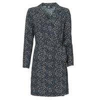 textil Dam Korta klänningar Le Temps des Cerises LEANE Blå