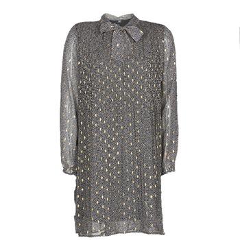 textil Dam Korta klänningar Le Temps des Cerises CHANI Grå