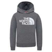 textil Barn Sweatshirts The North Face DREW PEAK HOODIE Grå