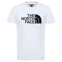 textil Pojkar T-shirts The North Face EASY TEE Vit