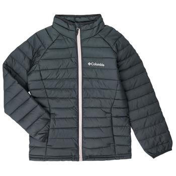 textil Flickor Täckjackor Columbia POWDER LITE JACKET Svart