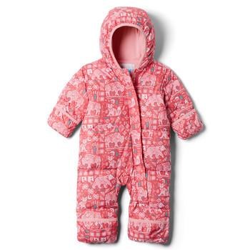 textil Flickor Täckjackor Columbia SNUGGLY BUNNY Rosa