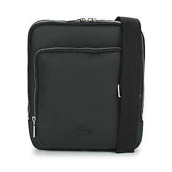 Väskor Herr Portföljer Lacoste MEN'S CLASSIC CROSSOVER BAG Svart