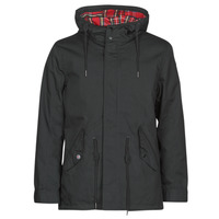 textil Herr Parkas Harrington JIMMY Svart