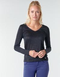 textil Dam Långärmade T-shirts Les Petites Bombes ADRIANA Svart