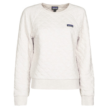 textil Dam Sweatshirts Patagonia W'S ORGANIC COTTON QUILT CREW Benvit