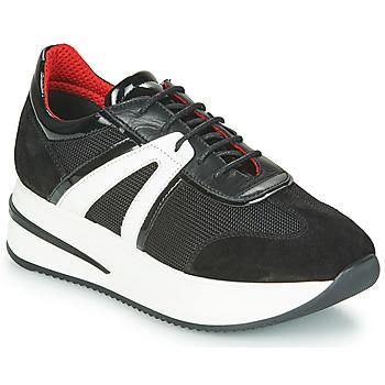 Skor Dam Sneakers Tosca Blu SF2031S604-C99 Svart