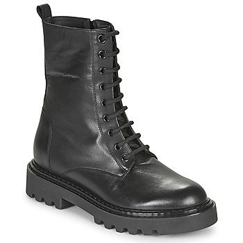 Skor Dam Boots Tosca Blu SF2028S547-C99 Svart