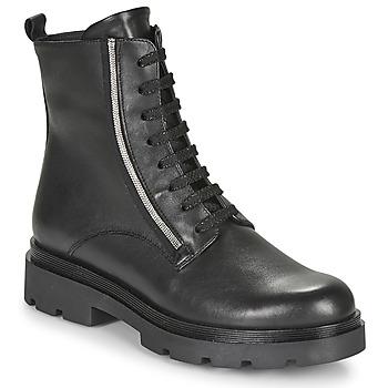 Skor Dam Boots Tosca Blu SF2024S470-C99 Svart