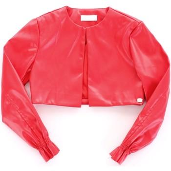 textil Flickor Skinnjackor & Jackor i fuskläder Byblos Blu BJ14994 Rosso