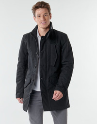 textil Herr Trenchcoats G-Star Raw SCUTAR UTILITY PDD TRENCH Svart