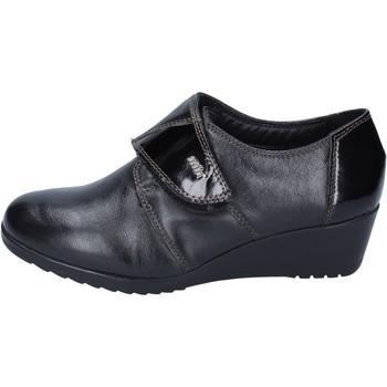 Skor Dam Loafers Adriana Del Nista sneakers pelle Nero