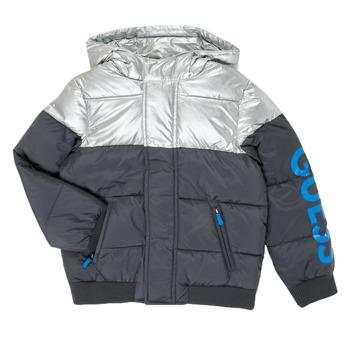 textil Pojkar Täckjackor Guess N0YL00-W7S10-PHTM Grå